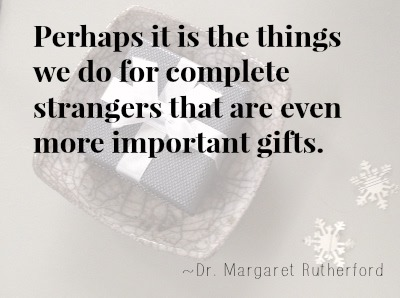 Gifts for strangers