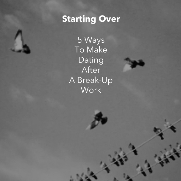 When to start online dating break up