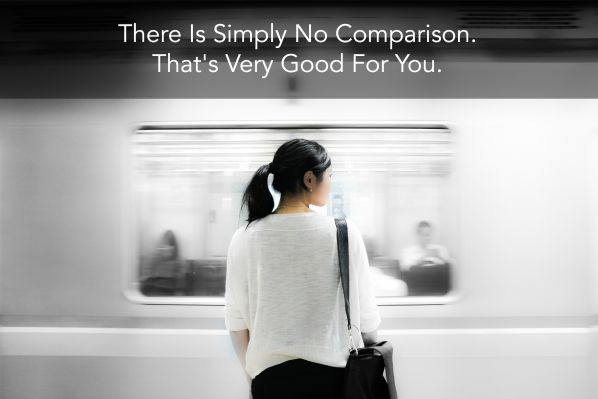 There is simply no comparison. That's Very Good For You.