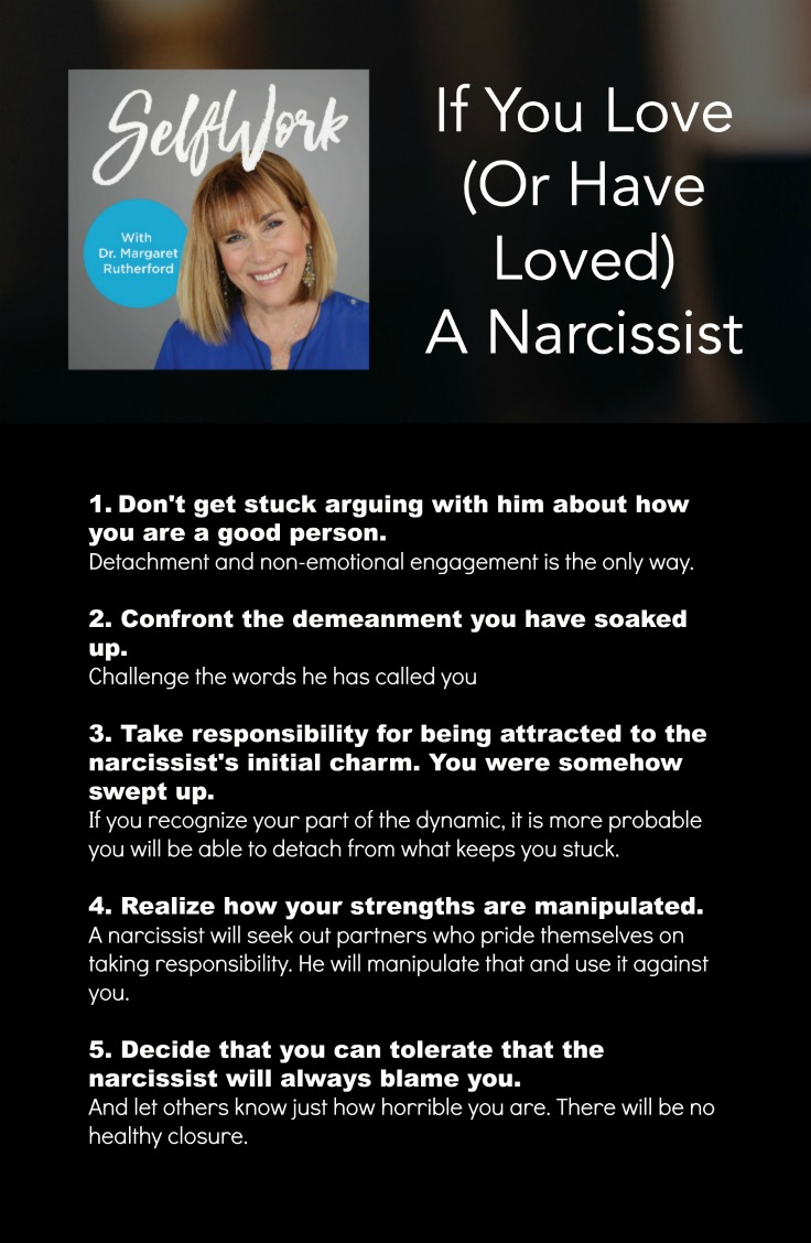 good relationship with a narcissist