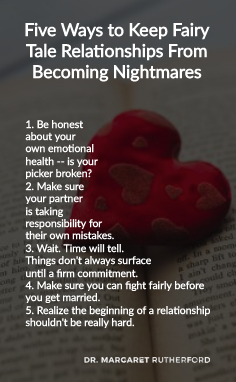 Five Ways to Keep Fairy Tale Relationships From Becoming Nightmares